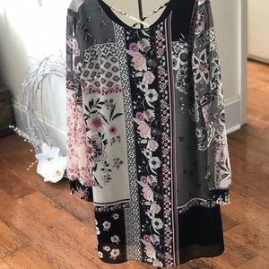 Maurices floral dress size small
